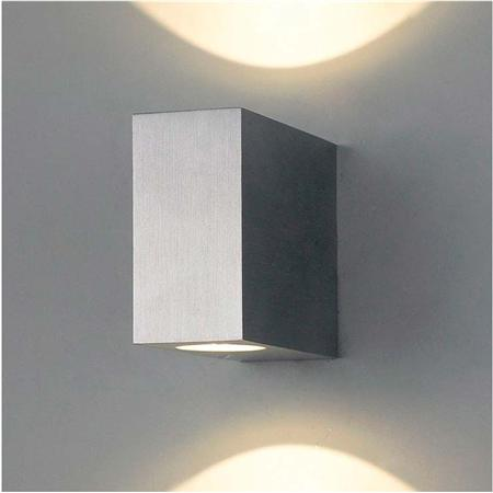 Aplique Bidireccional de Exterior Led Rectangular Chico