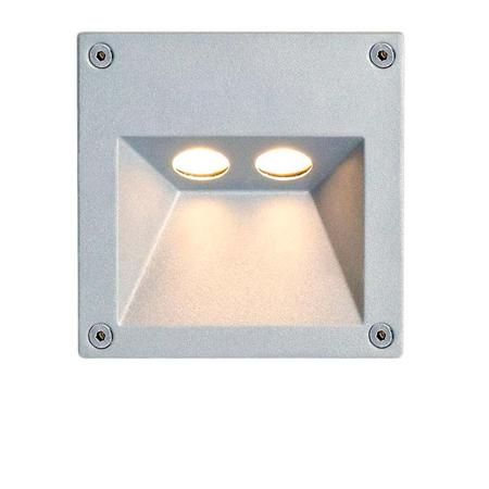 Empotrable de pared Alba 2L Power Led