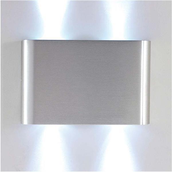 Aplique bidireccional de exterior led rectangular grande m iluminacion - Iluminacion exterior led ...